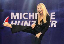 Amici Celebrities Michelle Hunziker Maria De Filippi staffetta