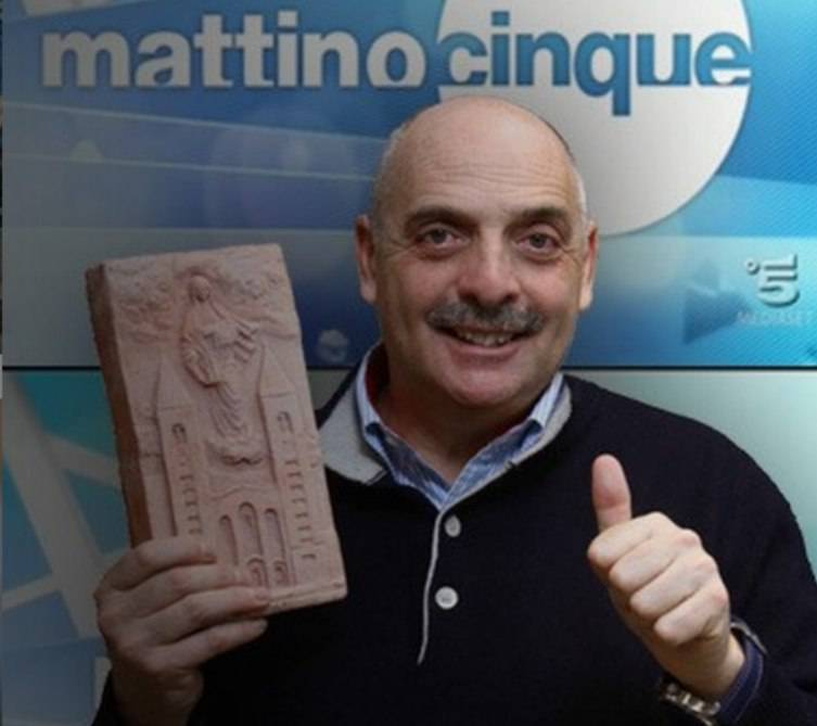 Paolo Brosio Emilio Fede. uomo di fede
