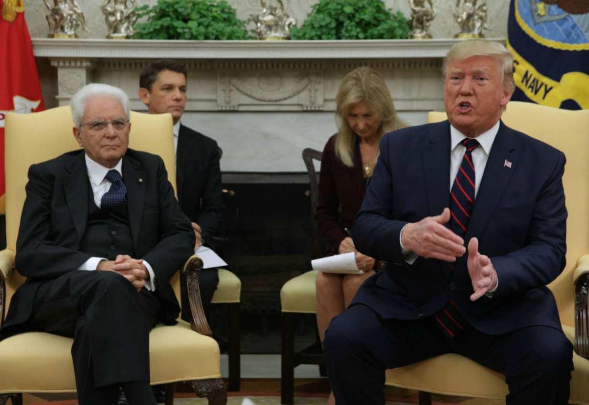 Mattarella Trump dazi ccordo