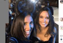 Angelina Jolie e Caterina Balivo