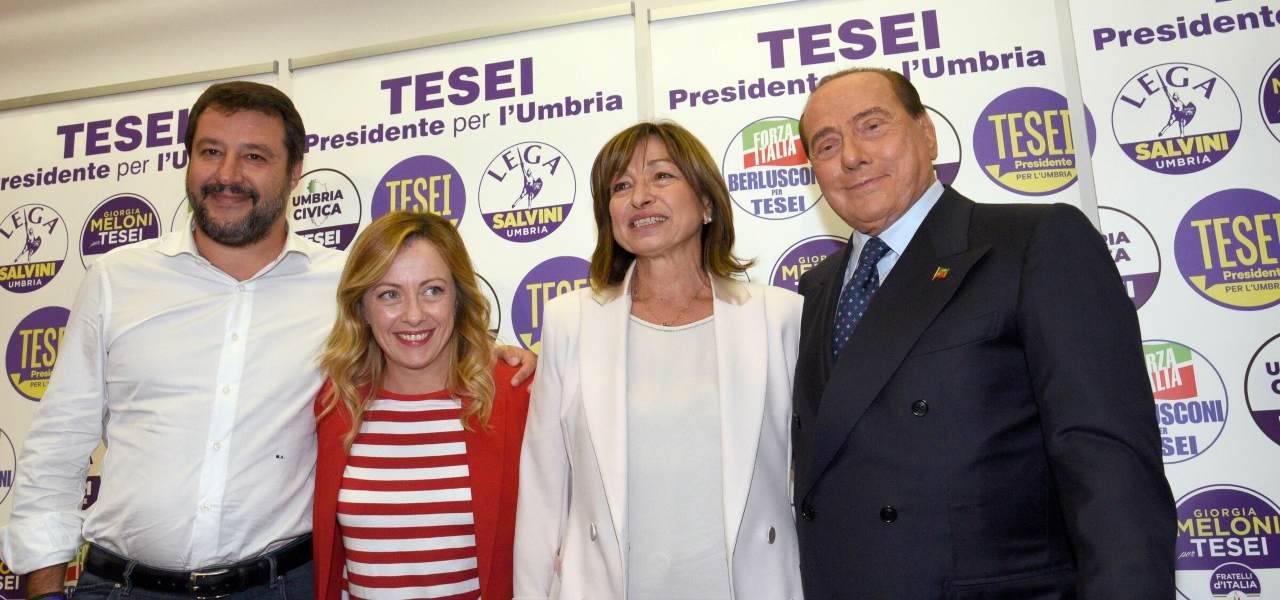 Centro destra vittorioso in Umbria