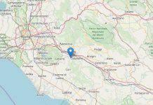 Terremoto Lazio Artena