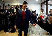 Elezioni Spagna Pedro Sanchez