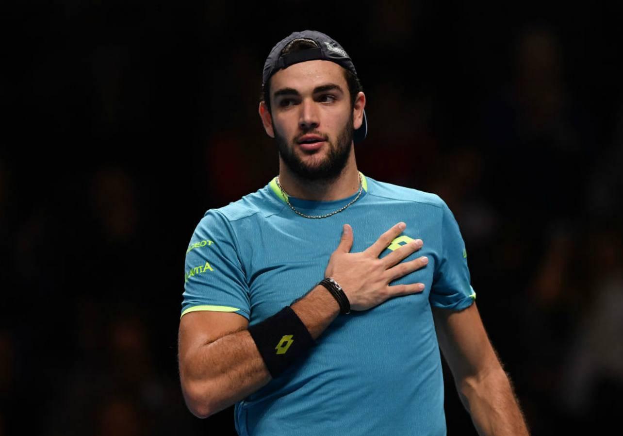 Tennis, Matteo Berettini storia Masters