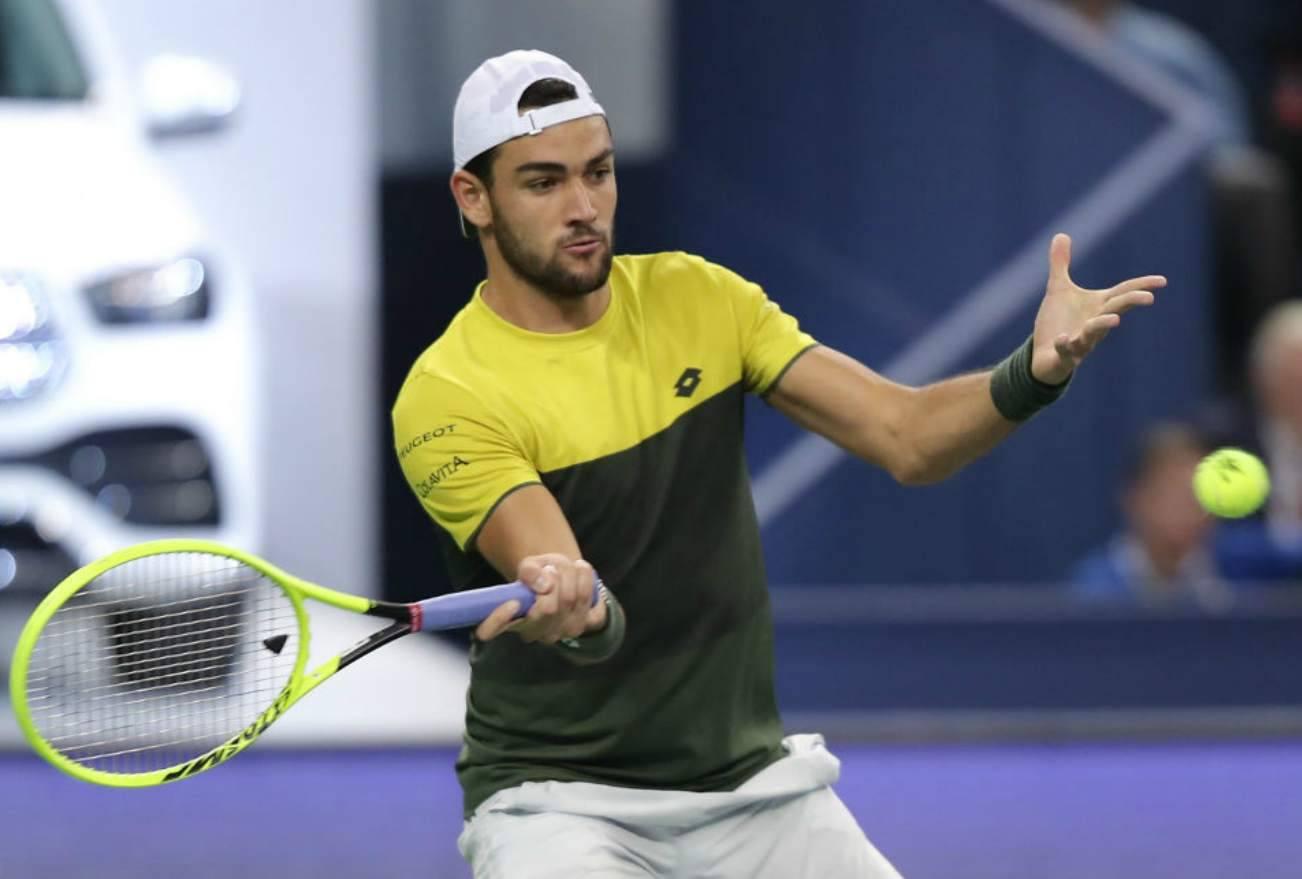 Matteo Berrettini ATP Finals Masters