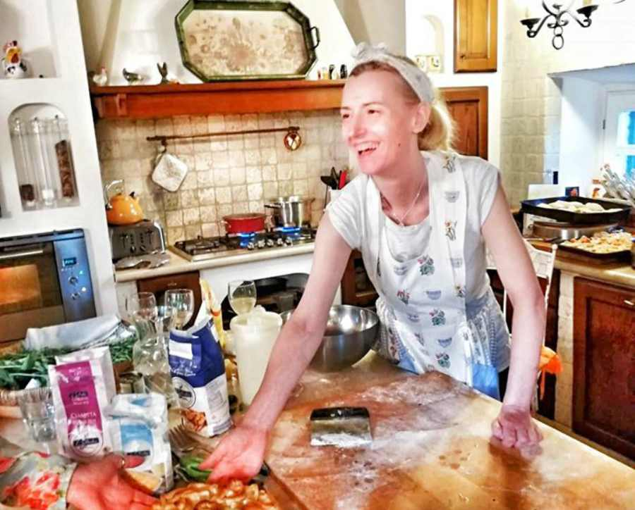 Chi è Velia De Angelis, la famosa chef sclerosi multipla