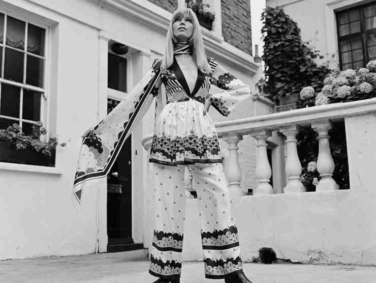Amanda Lear a Londra