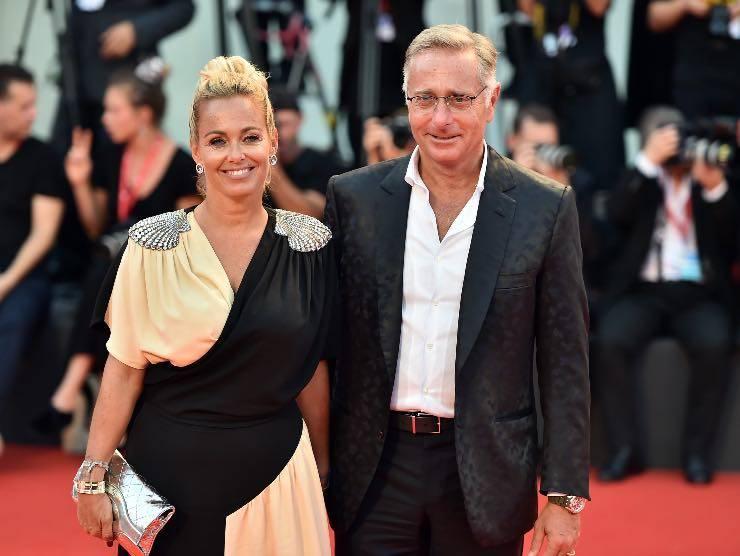 Paolo Bonolis e Sonia Bruganelli