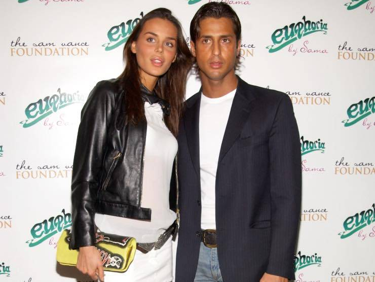 Fabrizio Corona e Nina Moric (GettyImages)