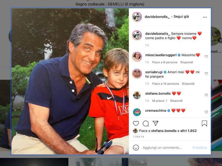 Davide Bonolis Instagram