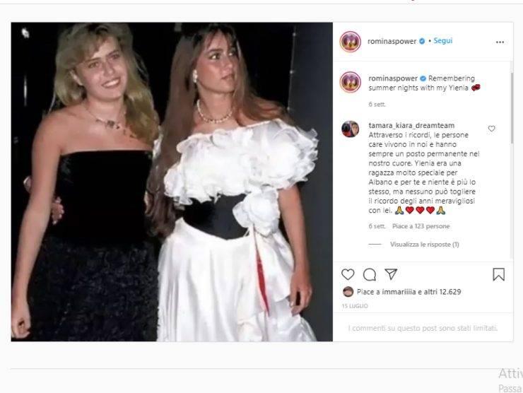 Schermata profilo Instagram Romina Power (Instagram)