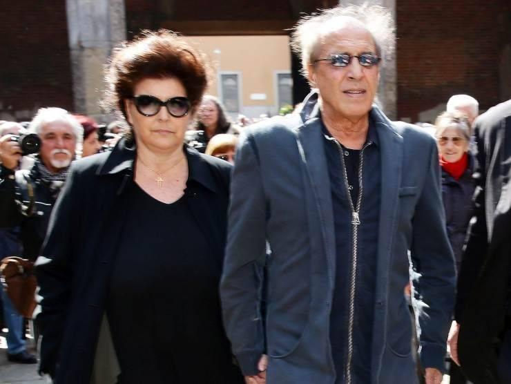 Adriano Celentano e Claudia Mori (Getty Images)