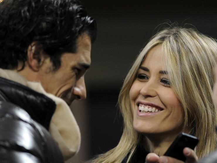 Elena Santarelli e Bernardo Corradi (Getty Images)