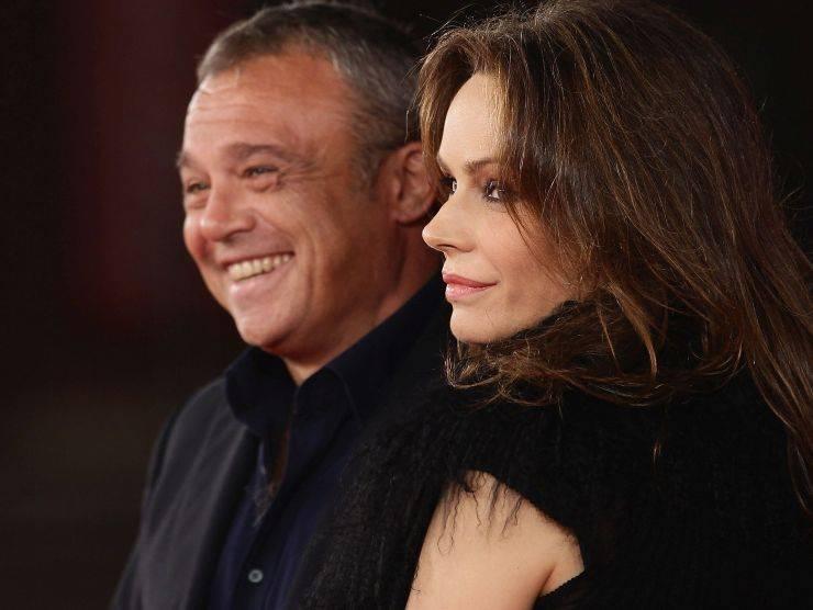 Claudio Amendola e Francesca Neri. La voglia di tornare a sorridere (Getty Images)