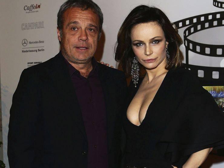 Francesca Neri e Claudio Amendola (Getty Images)