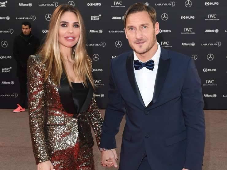 Francesco Totti e Ilary Blasi (Getty Images)