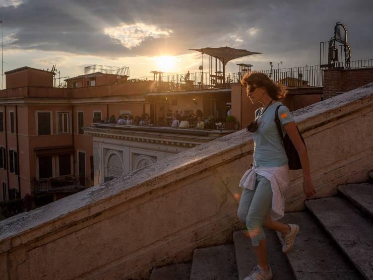 Turisti a Roma (Getty Images)