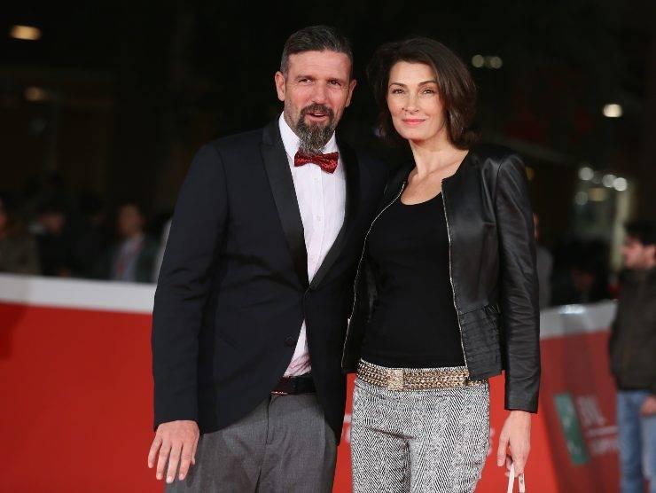 Vincent Candela e la moglie (Getty Images)