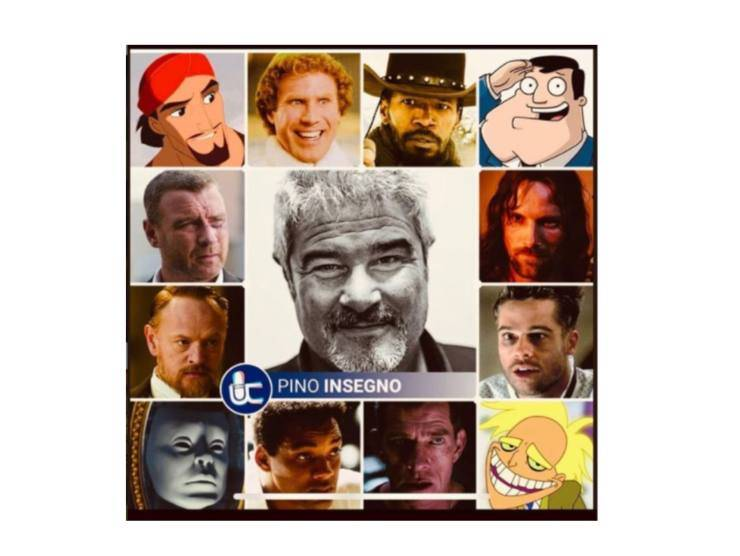 I personaggi doppiati da Insegno
