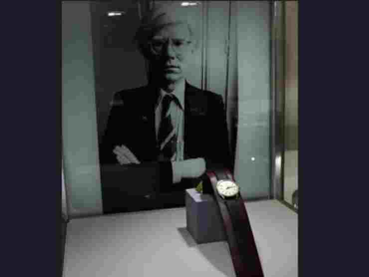 Il Patek Philippe di Andy Warhol