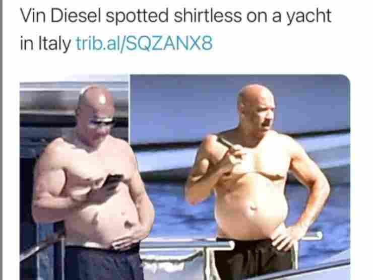 Vin Diesel oggi