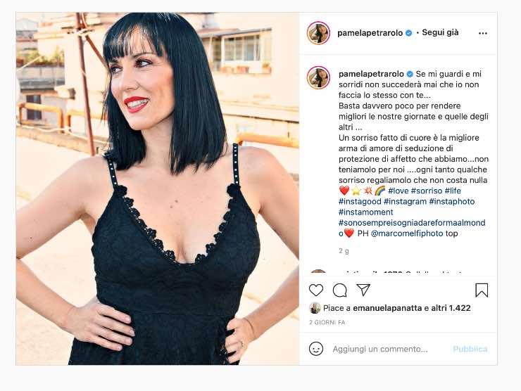 Pamela Petrarolo (Instagram)
