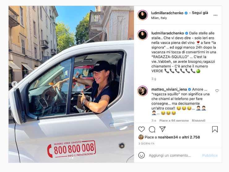 Ludmilla Radchenko Instagram