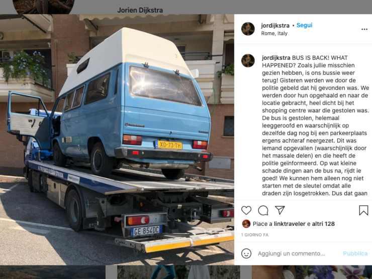 Schermata profilo Instagram di Jorien Dijkstra (Instagram)