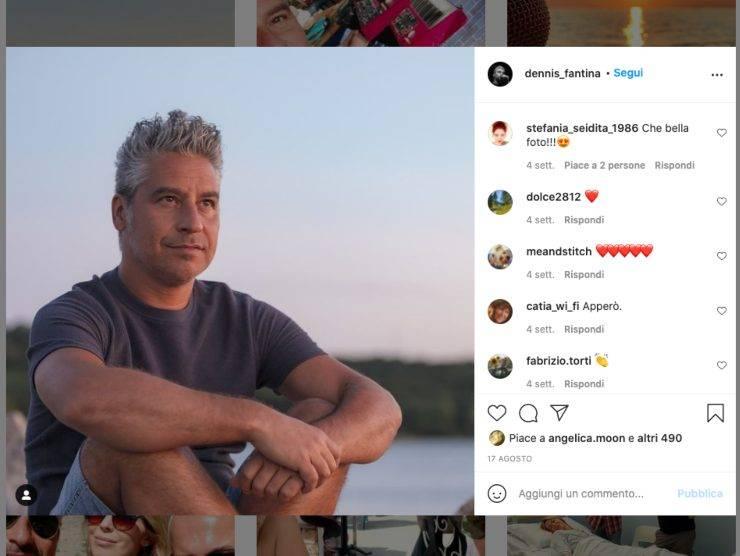 Schermata profilo Instagram di Dennis Fantina (Instagram)