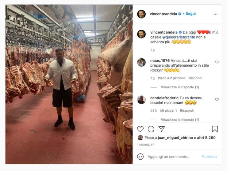 Schermata profilo Instagram di Vincent Candela (Instagram)