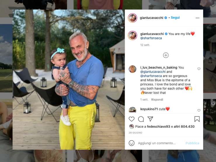 Schermata profilo Instagram di Gianluca Vacchi (Instagram)