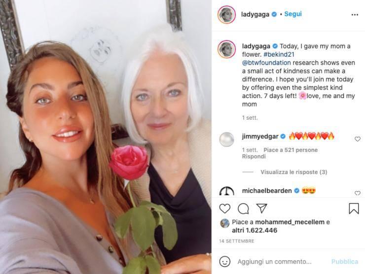 Schermata profilo Instagram di Lady Gaga (Instagram)