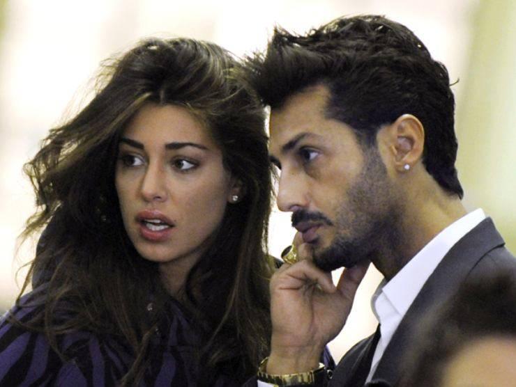 Fabrizio Corona e Belen Rodriguez nel caso Vallettopoli (SkyTG24.it)
