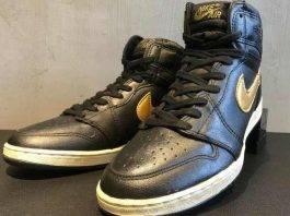 Air Jordan 1 OG Black/Gold Friends&Family