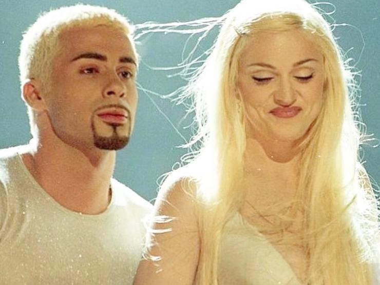 Luca Tommassini e Madonna (web source)
