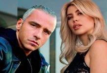 Eros Ramazzotti e Wanda Nara