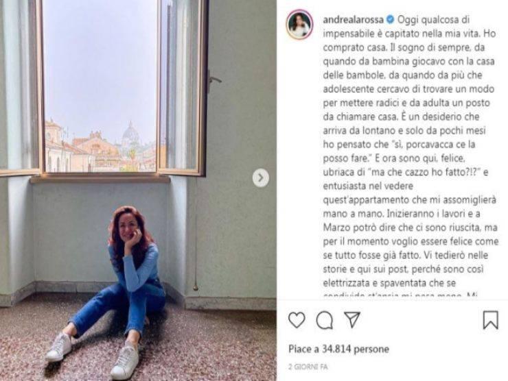 Andrea Delogu (Instagram)