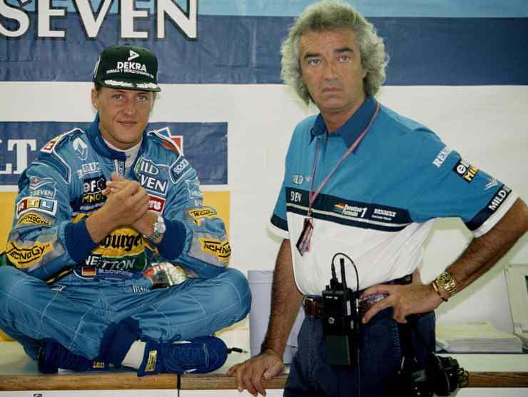 Briatore e Schumacher