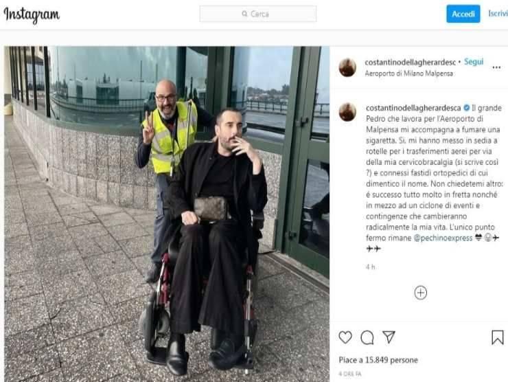 Costantino della Gherardesca (Instagram)