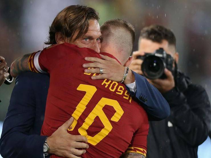 Daniele De Rossi e Francesco Totti (Getty Images)