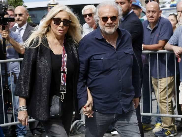 Jerry Calà e Mara Venier (Getty Images)