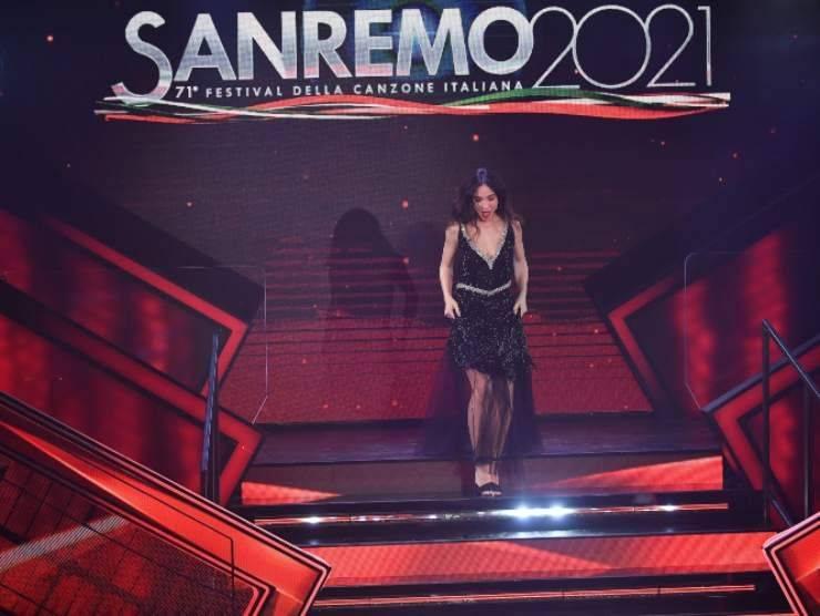 Matilda De Angelis a Sanremo (Getty Images)