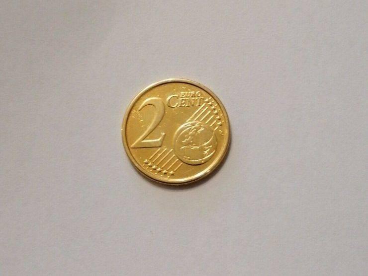 Moneta 2 centesimi (Ebay) 2