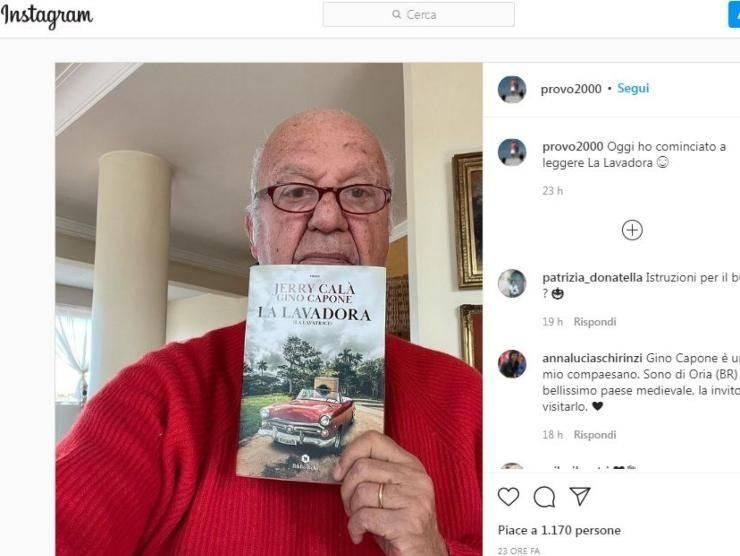 Nicola Carraro libro (Instagram)