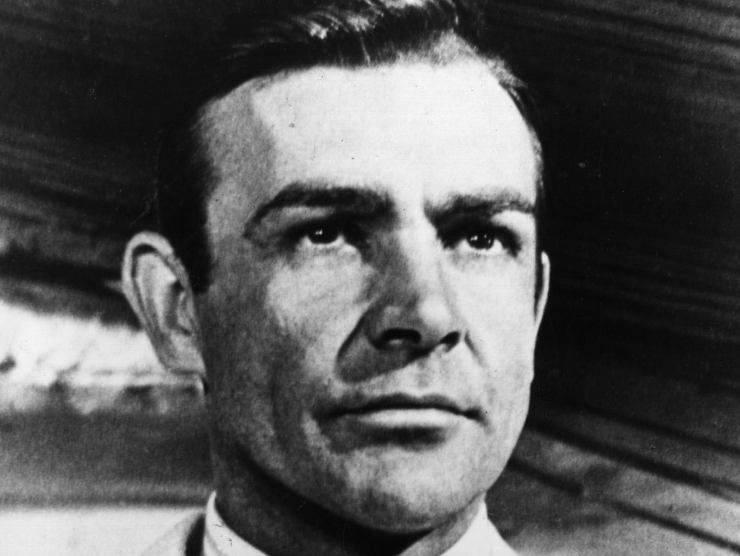 Sean Connery da giovane (Getty Images)
