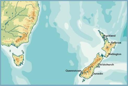 Nuova Zelanda: terremoto di 7 gradi nella notte. Non c'è rischio tsunami