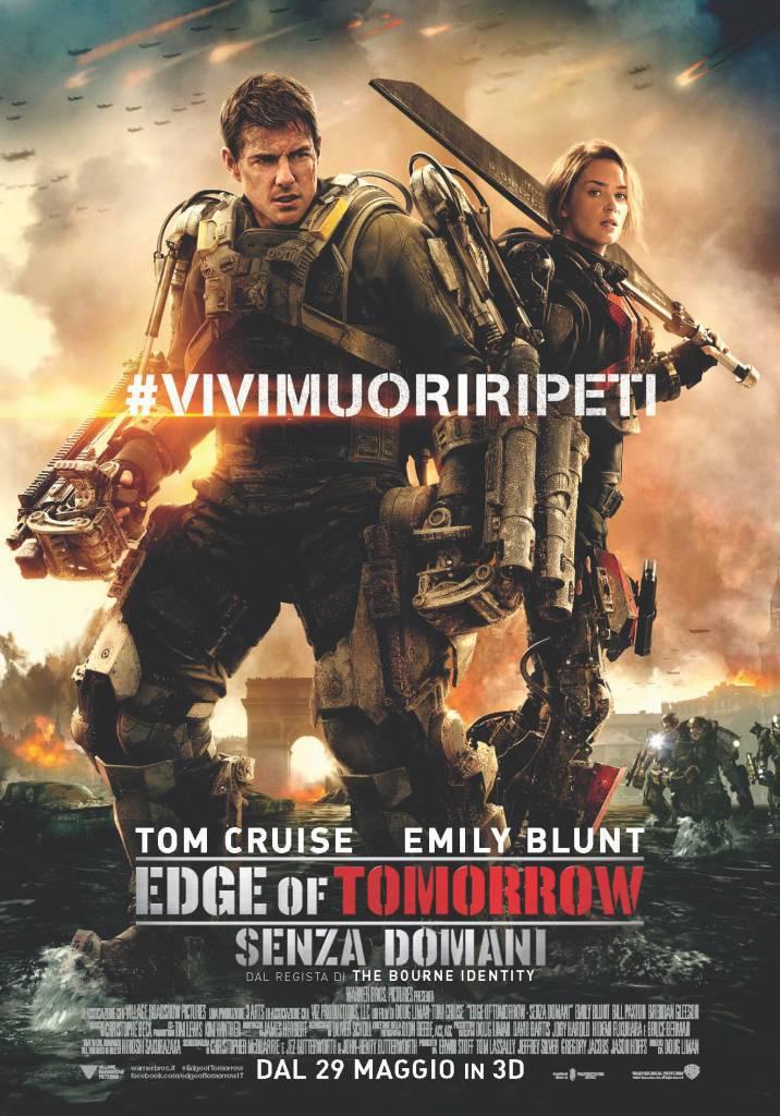 """""""Edge of Tomorrow – Senza Domani"""": tre anteprime in tre paesi in un solo giorno"""