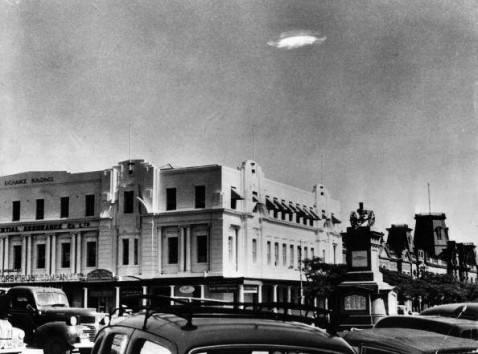 Avvistamento Ufo (Barney Wayne/Keystone/Getty Images)