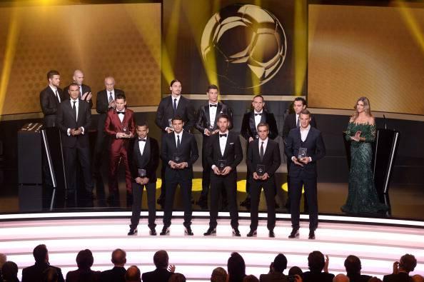 Fifa, ecco l'undici migliore del 2013