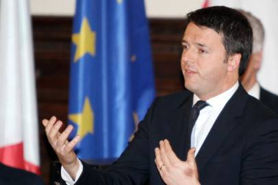 Matteo Renzi (GIANNI ATTALMI/AFP/Getty Images)